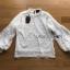 เสื้อผ้าเกาหลีพร้อมส่ง เสื้อผ้าลูกไม้แขนพองทรงคอสูง thumbnail 14