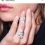 พร้อมส่ง แหวนโบว์งานคอลเลคชั่นล่าสุดจาก APM เพชร 5 แถว thumbnail 10