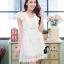 ชุดเดรสเกาหลี พร้อมส่งLuxury Lace Pricess Dress thumbnail 8