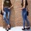 เสื้อผ้าเกาหลีพร้อมส่ง กางเกงยีนส์เอวสูงทรงสกินนี่ สไตล์ Zara thumbnail 6