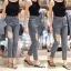 เสื้อผ้าเกาหลีพร้อมส่ง งานขายาวหลวยๆอีกรุ่นต้อนรับ summer thumbnail 6