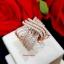 พร้อมส่ง Diamond Ring งานเพชร CZ แท้ งานสวยมาก thumbnail 2