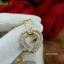 พร้อมส่ง Diamond Earring งานเพชร CZ แท้ ดีไซส์หัวใจ thumbnail 5