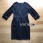 Tanna Crystal Embellished Draped Black Dress thumbnail 7