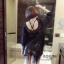 เสื้อผ้าแฟชั่นเกาหลีพร้อมส่ง เสื่อโบฮีเมียนแต่งไหมพรมถักกรุ่ยกราย thumbnail 4