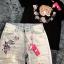 เสื้อผ้าแฟชั่นเกาหลีพร้อมส่ง ชุดเซท เสื้องานปักลายแบรน Gucci thumbnail 5