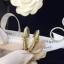 พร้อมส่ง Chanel Earring งานห่วงประดับมุก เรียบหรูดูดีต้องคู่นี้ thumbnail 4