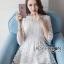 Isabelle Easy Sunday Feminine White Lace Dress thumbnail 5