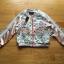 เสื้อผ้าเกาหลี พร้อมส่งบอมเบอร์แจ๊กเก็ตผ้าซาตินสีชมพูปักลายดอกไม้สไตล์สตรีท thumbnail 8