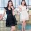 ชุดเดรสเกาหลี พร้อมส่งLuxury Lace Pricess Dress thumbnail 1