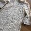 ชุดเดรสเกาหลี พร้อมส่งเดรสผ้าลูกไม้ทรงคอสูงแขนระบาย thumbnail 18