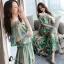 ชุดเดรสเกาหลี พร้อมส่งเดรสผ้าชีฟองหลากสีโทนสีเขียวขี้ม้า thumbnail 8