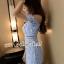 เสื้อผ้าแฟชั่นเกาหลีพร้อมส่ง จั้มสูทกางเกงขาสั้นทรงสวย thumbnail 5