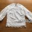 เสื้อผ้าเกาหลี พร้อมส่งเสื้อผ้าลูกไม้สีขาวสไตล์วินเทจเฟมินีน thumbnail 8