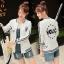 เสื้อผ้าเกาหลี พร้อมส่งเสื้อแจ็คเก็ตเบสบอลแขนยาวสไตล์เกาหลี thumbnail 9