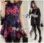 Colourful Embroidered Mini Dress thumbnail 5
