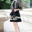 Whity Colar Blacky Flora Lace Dress thumbnail 4