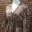 เสื้อผ้าเกาหลี พร้อมส่งจั้มสูทงานผ้าดี๊ดี มาในสีน้ำตาล thumbnail 12