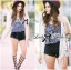 Nicole Elegant Fringed Lace-Organza Poncho thumbnail 7