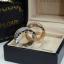 พร้อมมส่ง Bvlgari Ring แหวน Bvlgari งานเกรดไฮเอน เพชร 3 แถว thumbnail 3