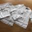 เสื้อผ้าเกาหลี พร้อมส่งเสื้อแขนสั้นผ้าลูกไม้ตกแต่งผ้าถักโครเชต์ thumbnail 11
