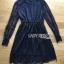 ชุดเดรสเกาหลี พร้อมส่ง เดรสผ้าลูกไม้ตัวสั้นสีดำสไตล์คลาสสิก thumbnail 14