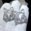 พร้อมส่ง diamond Chanel brooch &Earring เข็มกลัด/ต่างหู ชาแนล thumbnail 2