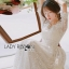 Eves Princess Style White Lace Dress thumbnail 6