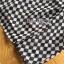 ชุดเดรสเกาหลี พร้อมส่งเดรสยาวผ้าชีฟองพิมพ์ลายตารางสีขาว-ดำ thumbnail 12