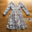 ชุดเดรสเกาหลี พร้อมส่งเดรสผ้าลูกไม้สีเทาอมฟ้าไลแล็คสไตล์แบรนด์ Self-Portrait thumbnail 15