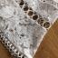 ชุดเดรสแฟชั่น พร้อมส่งเดรสผ้าลูกไม้สีขาวสไตล์เฟมินีนเรียบง่าย thumbnail 10