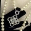 พร้อมส่ง สร้อยคอ Chanel งานมุกสีขาวนวล ดูหรูหรา มีระดับ thumbnail 3