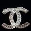 พร้อมส่ง Diamond chanel brooch เข็มกลัด/จี้ ชาแนล thumbnail 4