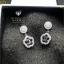 พร้อมส่ง Chanel Earring งานเกาหลี เพชร CZ thumbnail 2