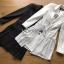 Martin Smart Elegance Suit Pleated Dress thumbnail 8