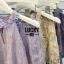 เสื้อผ้าเกาหลีพร้อมส่ง เซทเสื้อไหล่ล้ำ+กางเกงขาสั้น thumbnail 10