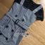 เสื้อผ้าเกาหลีพร้อมส่ง เซ็ตเสื้อยืดสีดำทับด้วยเดรสลายตารางต thumbnail 8