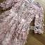 ชุดเดรสเกาหลี พร้อมส่งDress ค็อกเทลเดรสผ้าชีฟองสีชมพูปักดอกไม้ thumbnail 10