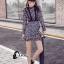 ชุดเดรสเกาหลี พร้อมส่งMini dress งานลูกไม้ทั้งชุด thumbnail 8