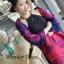 เสื้อผ้าเกาหลี พร้อมส่งผ้าคลุมไหล่ลายหอไอเฟล เนื้อผ้าสวยมาก thumbnail 2