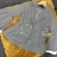 เสื้อผ้าเกาหลี พร้อมส่งเสื้อสูทแขนชายระบาย งานซับเสริมช่วงแขนสีขาว thumbnail 9
