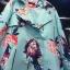 เสื้อผ้าเกาหลี พร้อมส่งเสื้อคลุม ลายดอกไม้ฤดูหนาว thumbnail 3