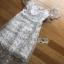 ชุดเดรสเกาหลี พร้อมส่งเดรสผ้าลูกไม้สีขาวปักลายดอกไม้สีหวาน thumbnail 15