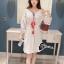 ชุดเดรสเกาหลี พร้อมส่งMini dress สไตส์สาวโมฮีเมี่ยน thumbnail 4