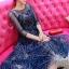 ชุดเดรสเกาหลี พร้อมส่งGalaxy Diamond Luxury Dress thumbnail 2