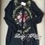 เสื้อผ้าแฟชั่น พร้อมส่ง เชิ้ตเดรสปักลายดอกไม้สไตล์วินเทจ thumbnail 3
