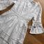ชุดเดรสแฟชั่น พร้อมส่งเดรสผ้าลูกไม้สีขาวสไตล์เฟมินีนเรียบง่าย thumbnail 13