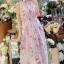 ชุดเดรสเกาหลี พร้อมส่งlong dress สีหวานสายเดี่ยวแบบผูก thumbnail 3