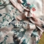 ชุดเดรสเกาหลี พร้อมส่งเดรสผ้าวิสโคสสีชมพูพิมพ์ลายธรรมชาติ thumbnail 9