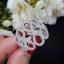 พร้อมส่ง Infinity Diamond Ring งานเพชร CZ แท้ thumbnail 4
